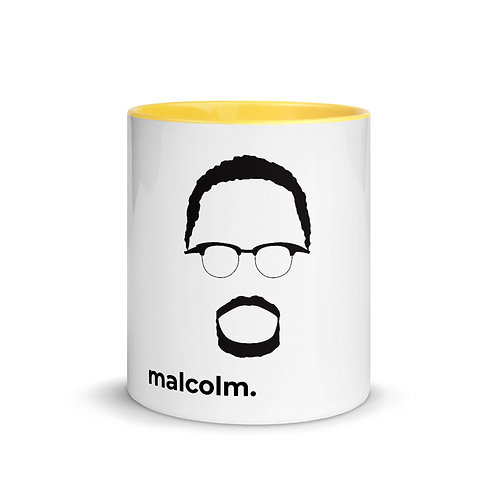 malcolm. Mug with Color Inside