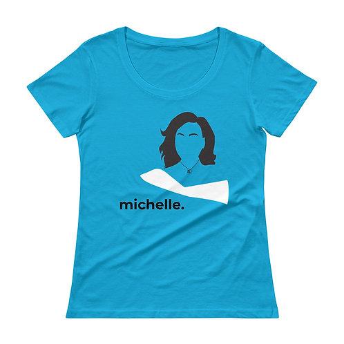 michelle. Scoopneck T-Shirt