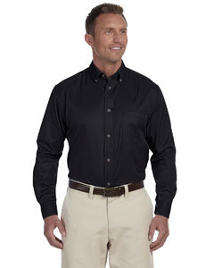 Monroe Twp. Schools   - Men's Long Sleeve Twill Shirt