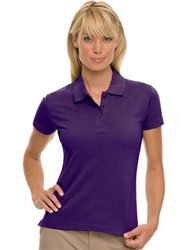 Mill Lake - Women's Short Sleeve Pique Polo Shirt