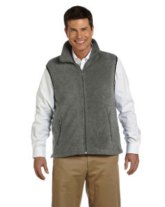 Monroe Twp. Schools  - Men's Full Zip Fleece Vest