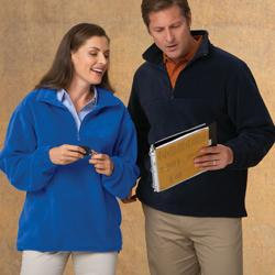 Brookside - Unisex Quarter Zip Fleece
