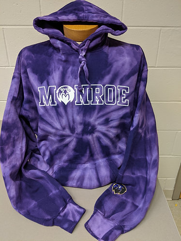 Purple Tie Dye Sweatshirt