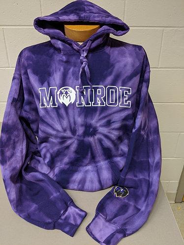 Purple Tie Dye Sweatshirt