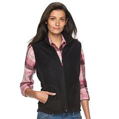 Central Office - Women's Full Zip Fleece Vest