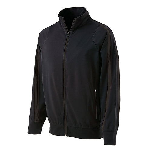 Black DETERMINATION Jacket - Men's