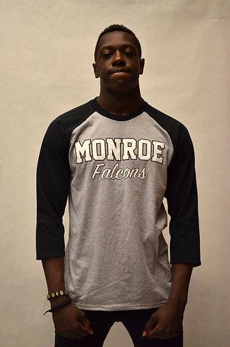 "Baseball ""B&W Logo"" Shirt - 3/4 Sleeve"