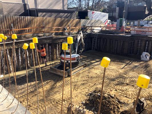 Basement Reinforce Work