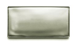 Silver Metallic Glass Tile (Brick)