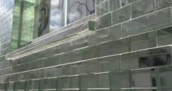 Crystal brick window