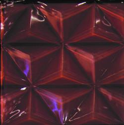 Deep Earth 3D Glass Tile