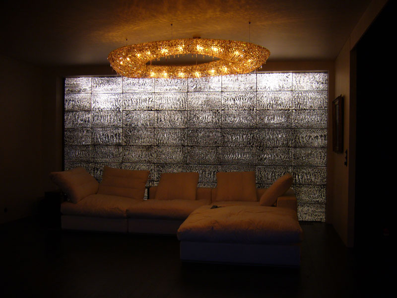 Translucent Concrete in lounge