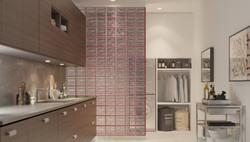 Agua Perla Kitchen Dividing Wall
