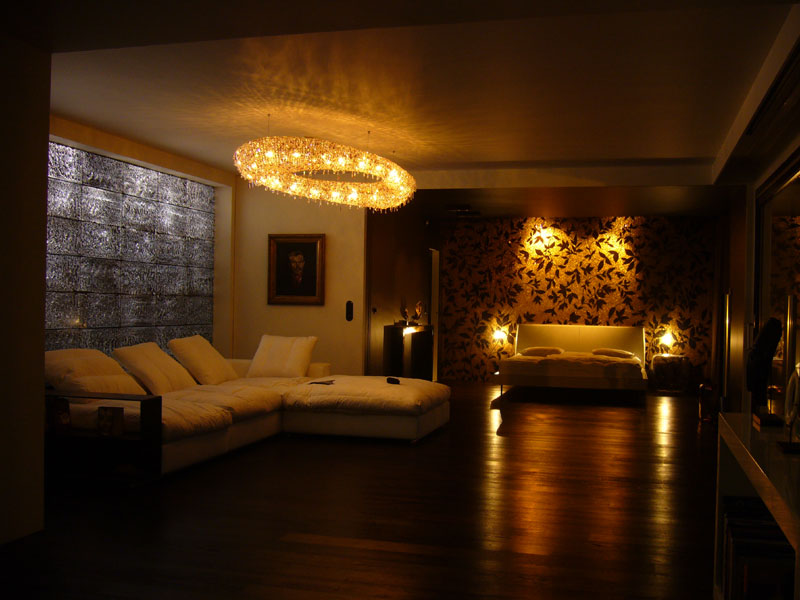 Translucent Concrete LEd wall