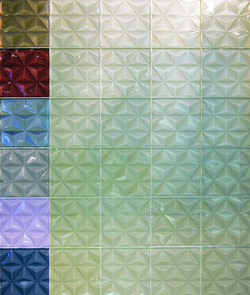 3D Glass Tile Collection
