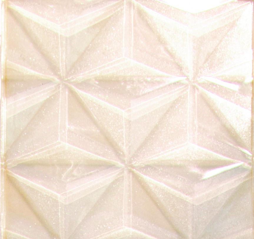 White Glass 3D Tile