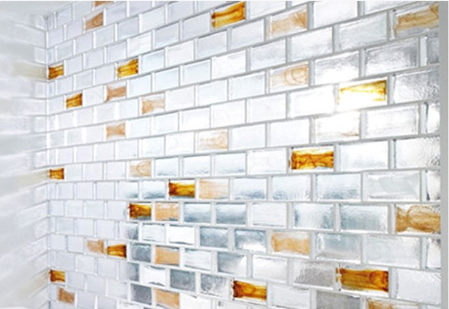 Glass Brick wall