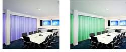 Lumaglass Board Room Walls