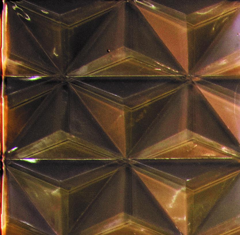 Bronze Glass 3D Tile