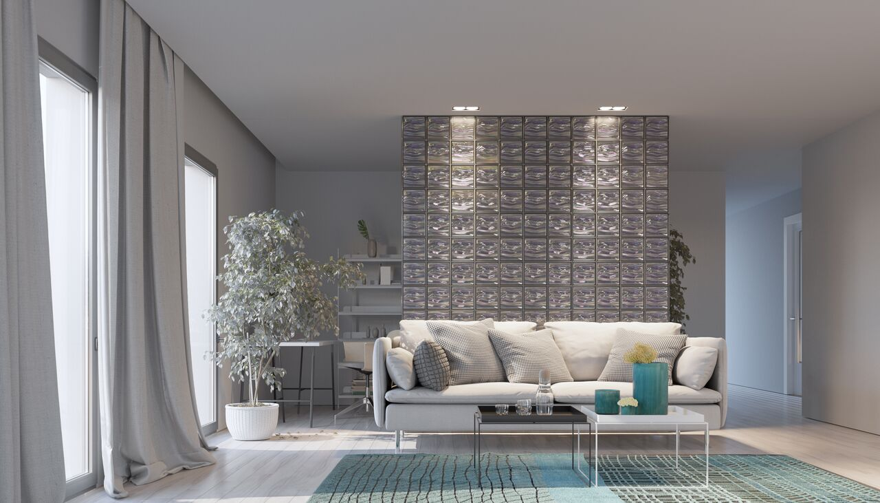 Agua Perla Lounge Dividing Wall