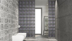 Agua Perla Bathroom Dividing Wall