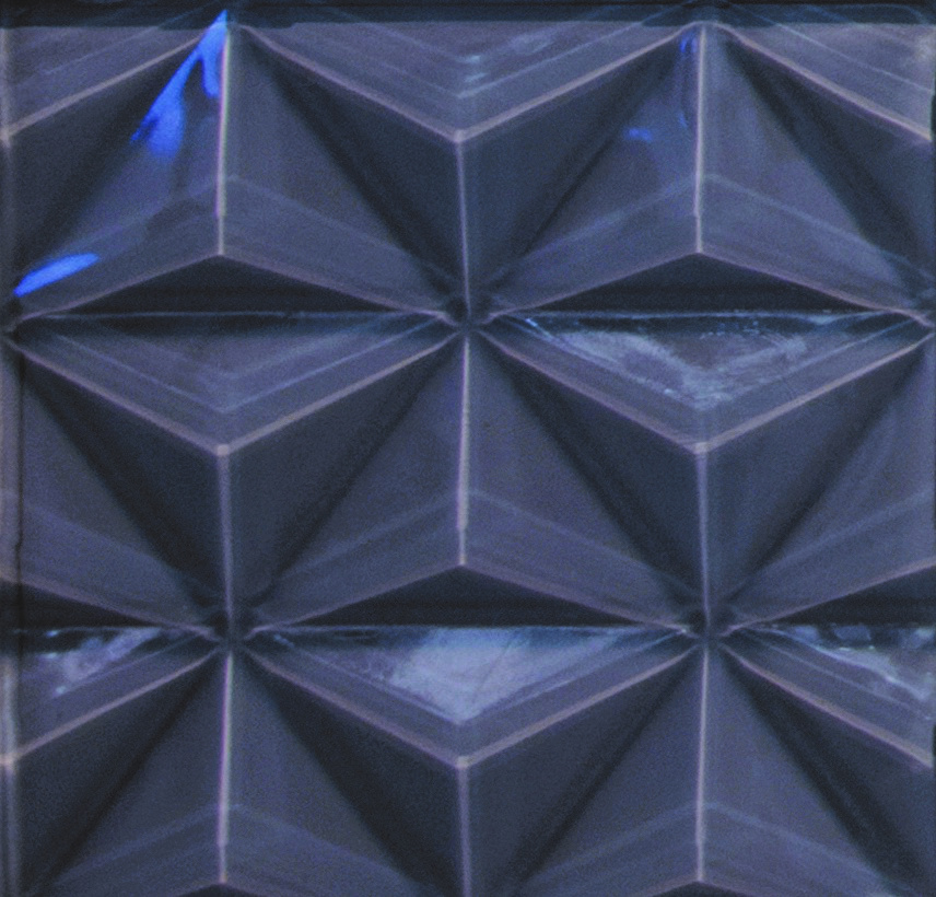Charcoal 3D Glass Tile