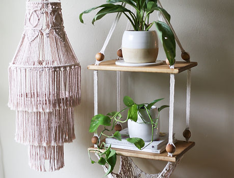 Macrame Austin Aquariust Bethany Solonika Workshops Natural Dye Artist Chandelier Weaving Decor