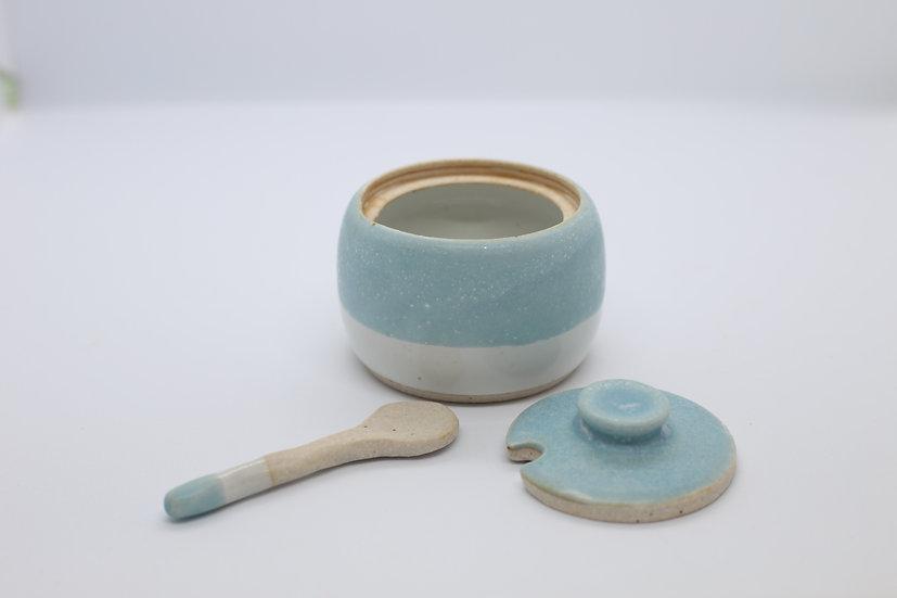 MORNING BLUES || Salt Cellar Spice Jar