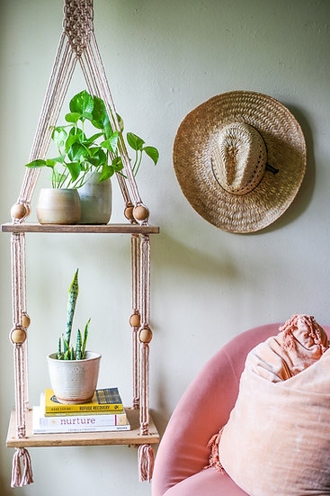 THE KASHA || Woven Double Shelving