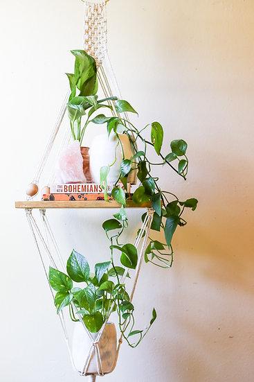 HANNA LONG || Shelf + Planter Combo