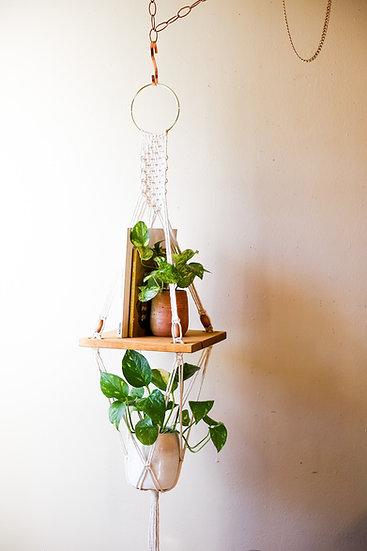 HANNA SHORT    Shelf + Planter Combo