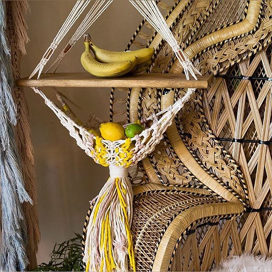 The Maya || Woven Fruit Stand