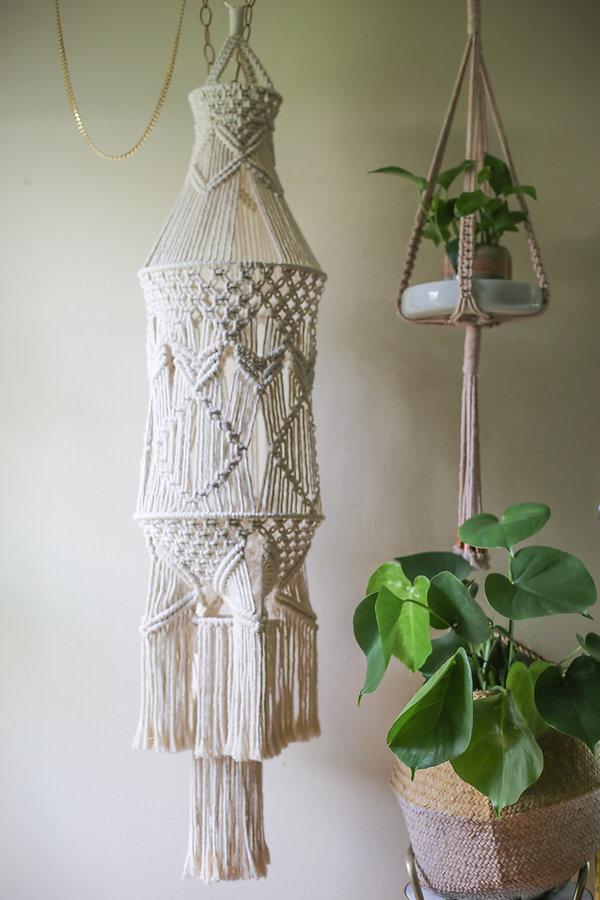 macrame chandeliers bethany solonika aquariust austin art workshops custom natural dye handwoven weaving