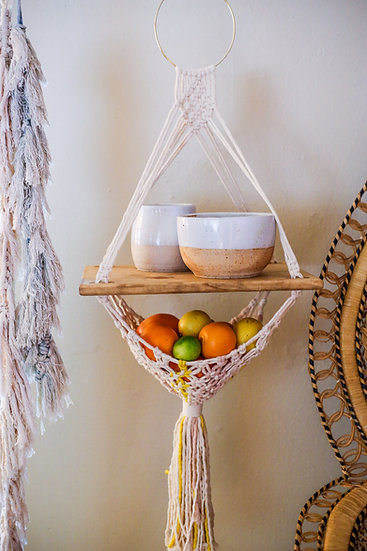 Handwoven Fruit Stand