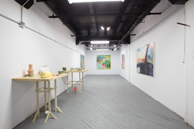 Installation View of Yve's Concave Mirror