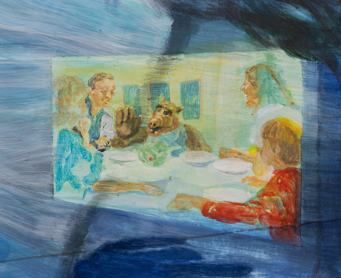 detail of Family show in hurricane