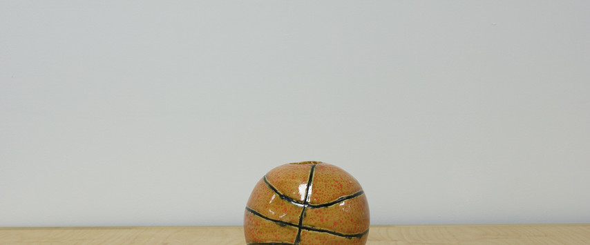 Basket Ball Vase