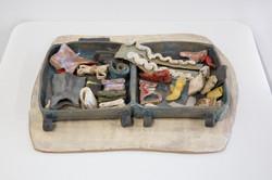 The suitcase for LA