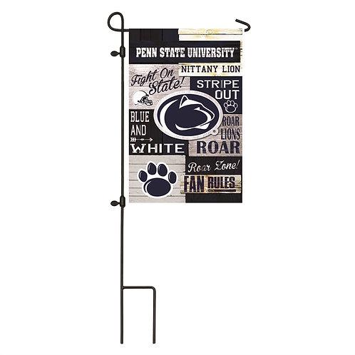 "NCAA Team Sports Pennsylvania State 14L922FR LINEN Garden Flag 12.5"" x 18"""