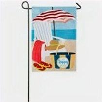 "Adirondack Day 14L4826 Linen Garden Flag 12.5"" x 18"""