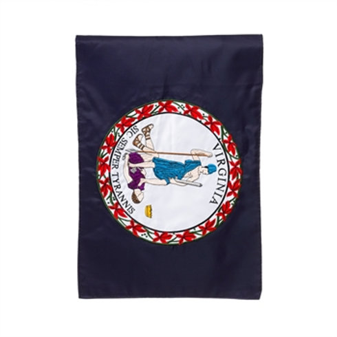 "VA State 11364 Evergreen Applique Garden Flag 12.5"" x 18"""