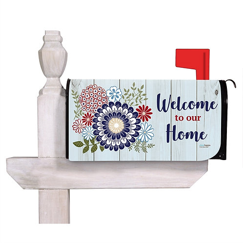 Americana Floral Mailbox Cover 56701