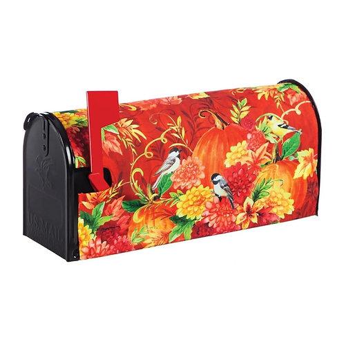 Pumpkins with Birds Mailbox Cover 56644