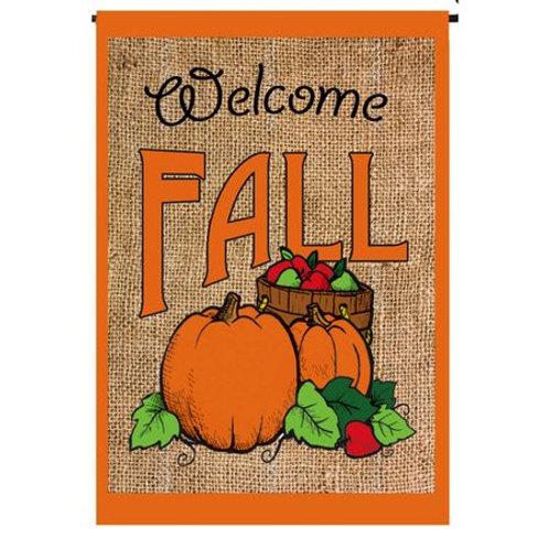 Welcome Fall Pumpkins 13B3463