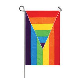 """Gay Pride 168427 Evergreen Applique Garden Flag 12.5"""" x 18"""""""