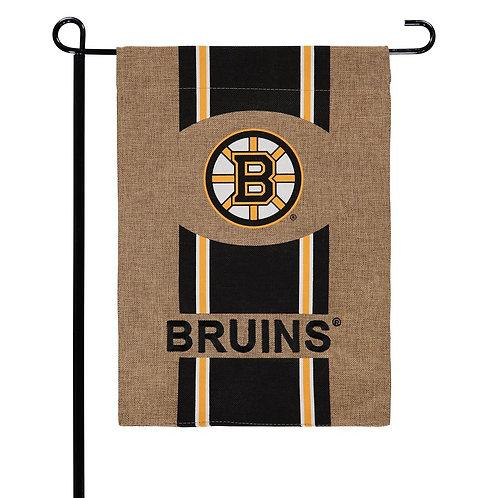 "NHL Team Sports BURLAP Garden Flag 12.5"" x 18"""