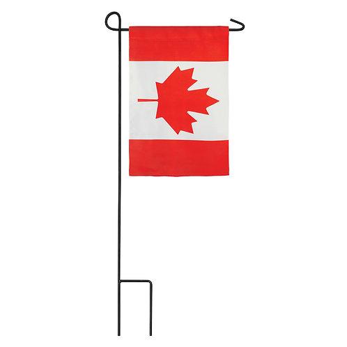"Canada 14S8887 Evergreen Suede Garden Flag 12.5""W x 18""H"