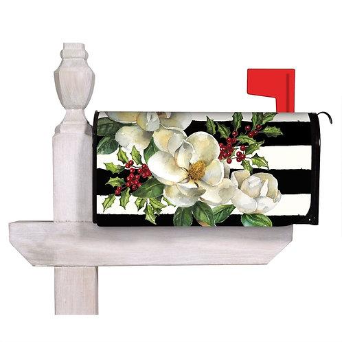 Holiday Magnolias Evergreen Mailbox Cover 56743
