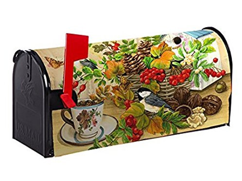 Woodland Bounty Evergreen Mailbox Cover 56634