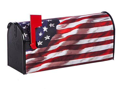 America In Motion Evergreen  Mailbox Cover 56002